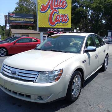 2008 Ford Taurus for sale at Auto Cars in Murrells Inlet SC