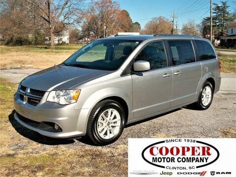 2019 Dodge Grand Caravan for sale at Cooper Motor Company in Clinton SC