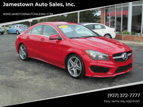 2014 Mercedes-Benz CLA for sale at Jamestown Auto Sales, Inc. in Xenia OH