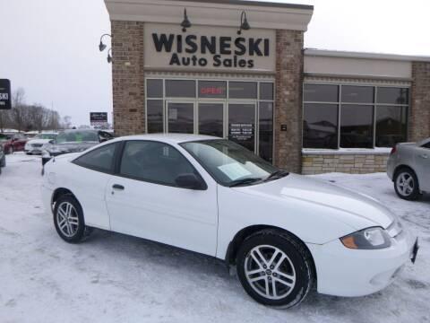 2004 Chevrolet Cavalier for sale at Wisneski Auto Sales, Inc. in Green Bay WI