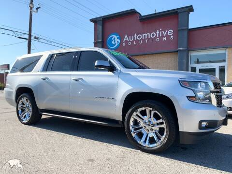 2015 Chevrolet Suburban for sale at Automotive Solutions in Louisville KY