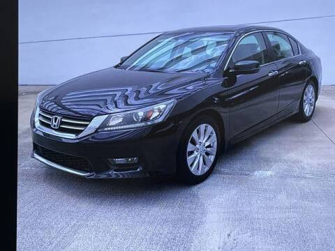 2014 Honda Accord for sale at Global Pre-Owned in Fayetteville GA