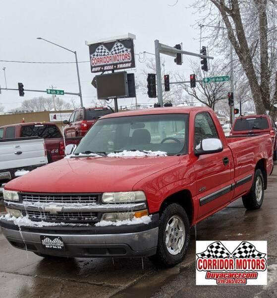 2002 Chevrolet Silverado 1500 for sale at Corridor Motors in Cedar Rapids IA