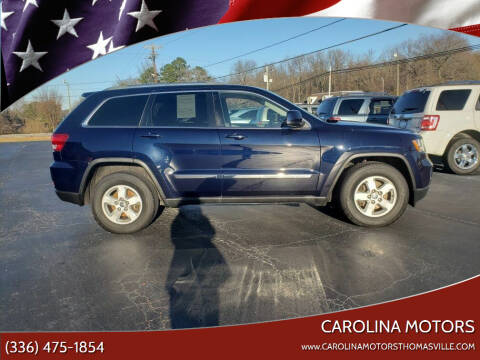 2012 Jeep Grand Cherokee for sale at CAROLINA MOTORS in Thomasville NC