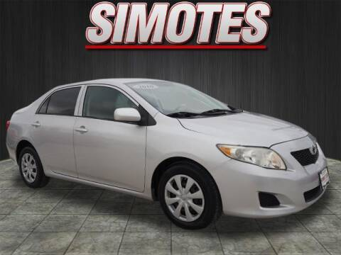 2010 Toyota Corolla for sale at SIMOTES MOTORS in Minooka IL