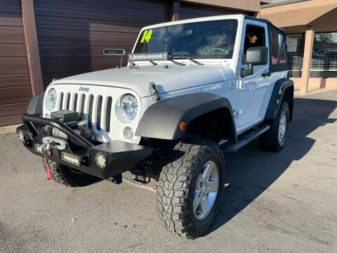 2014 Jeep Wrangler for sale at AutoMax in West Hartford CT
