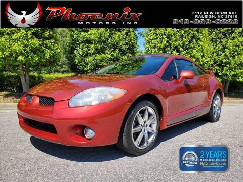 2008 Mitsubishi Eclipse for sale at Phoenix Motors Inc in Raleigh NC