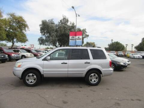 2003 Honda Pilot for sale at Valley Auto Center in Phoenix AZ