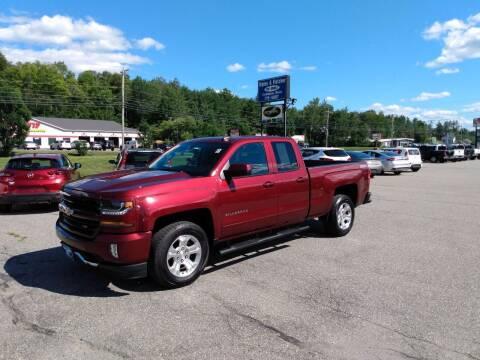 2016 Chevrolet Silverado 1500 for sale at Ripley & Fletcher Pre-Owned Sales & Service in Farmington ME