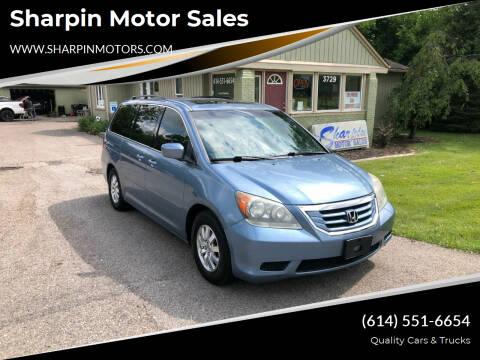 2010 Honda Odyssey for sale at Sharpin Motor Sales in Columbus OH