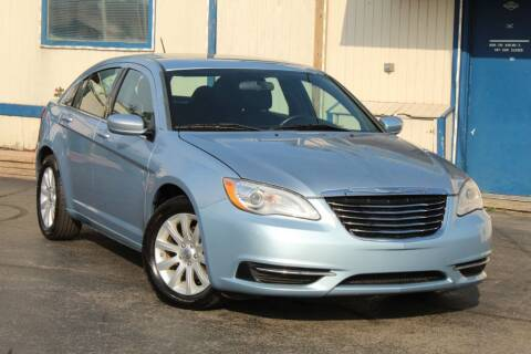 2012 Chrysler 200 for sale at Dynamics Auto Sale in Highland IN