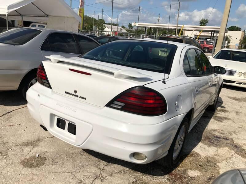 2004 Pontiac Grand Am for sale at Mego Motors in Orlando FL
