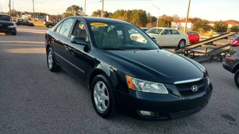 2006 Hyundai Sonata for sale at Kelly & Kelly Supermarket of Cars in Fayetteville NC