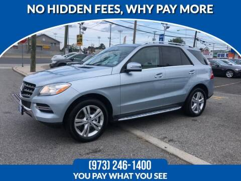 2015 Mercedes-Benz M-Class for sale at Route 46 Auto Sales Inc in Lodi NJ