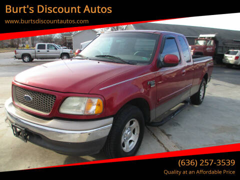 2002 Ford F-150 for sale at Burt's Discount Autos in Pacific MO
