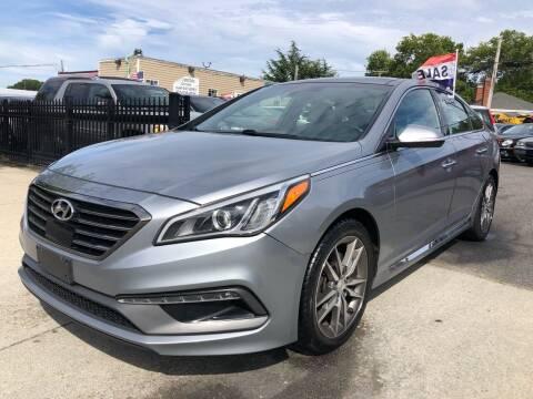 2015 Hyundai Sonata for sale at Crestwood Auto Center in Richmond VA