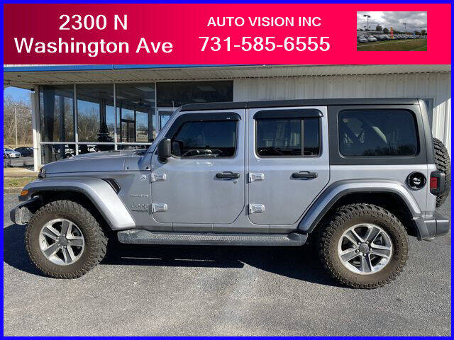 2019 Jeep Wrangler Unlimited for sale at Auto Vision Inc. in Brownsville TN