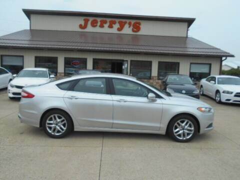 2014 Ford Fusion for sale at Jerry's Auto Mart in Uhrichsville OH