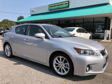 2012 Lexus CT 200h for sale at Action Auto Specialist in Norfolk VA