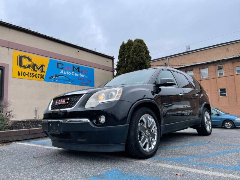 2010 GMC Acadia for sale at Car Mart Auto Center II, LLC in Allentown PA