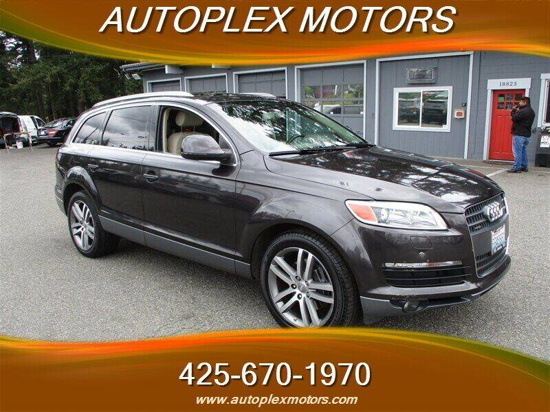 2007 Audi Q7 for sale at Autoplex Motors in Lynnwood WA