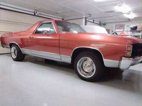 1971 Chevrolet El Camino for sale at Classic Car Deals in Cadillac MI