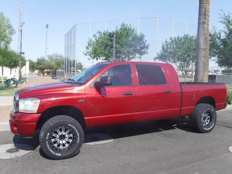 2006 Dodge Ram Pickup 2500 for sale at J & E Auto Sales in Phoenix AZ