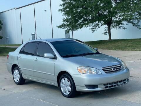 2004 Toyota Corolla for sale at MILANA MOTORS in Omaha NE