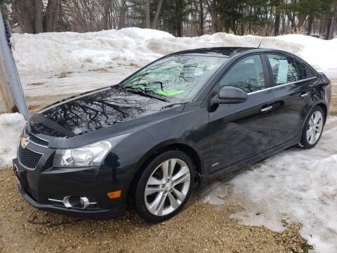 2012 Chevrolet Cruze for sale at Northwoods Auto & Truck Sales in Machesney Park IL
