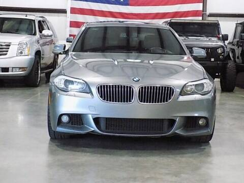 2013 BMW 5 Series for sale at Texas Motor Sport in Houston TX