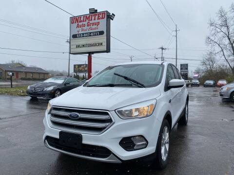 2017 Ford Escape for sale at Unlimited Auto Group in West Chester OH