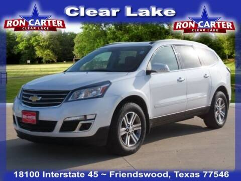 2016 Chevrolet Traverse for sale at Ron Carter  Clear Lake Used Cars in Houston TX