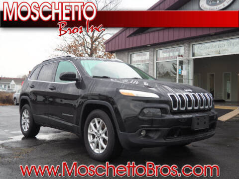 2017 Jeep Cherokee for sale at Moschetto Bros. Inc in Methuen MA