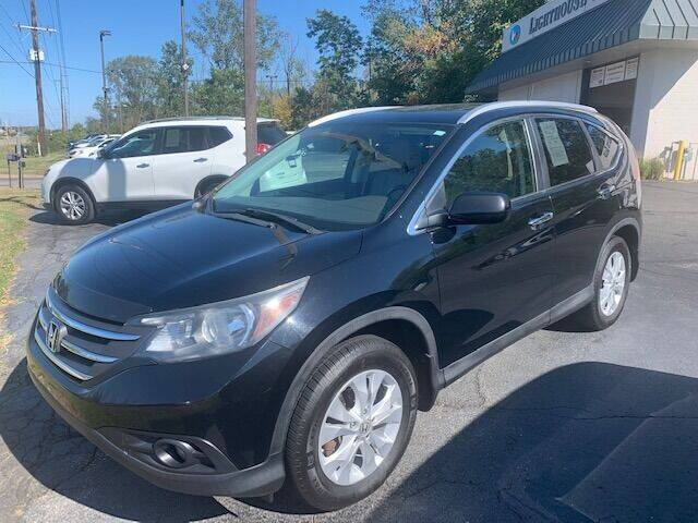 2013 Honda CR-V for sale at Lighthouse Auto Sales in Holland MI