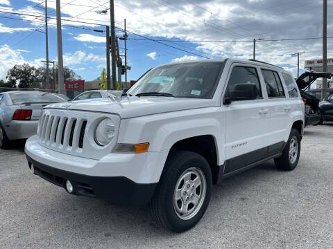 2014 Jeep Patriot for sale at Always Approved Autos in Tampa FL