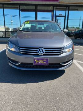 2012 Volkswagen Passat for sale at East Carolina Auto Exchange in Greenville NC