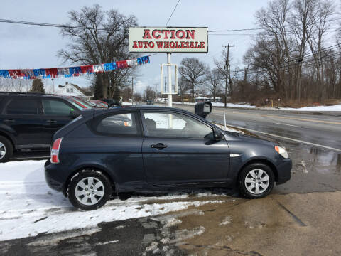 2008 Hyundai Accent for sale at Action Auto Wholesale in Painesville OH