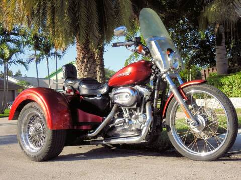 2008 HARLEY DAVIDSON TRIKE SPORTSTER TRIKE for sale at M.D.V. INTERNATIONAL AUTO CORP in Fort Lauderdale FL