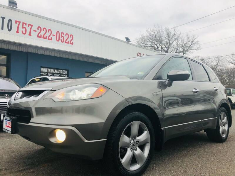 2008 Acura RDX for sale at Trimax Auto Group in Norfolk VA
