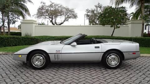 1986 Chevrolet Corvette for sale at Premier Luxury Cars in Oakland Park FL