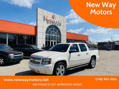2010 Chevrolet Avalanche for sale at New Way Motors in Ferndale MI