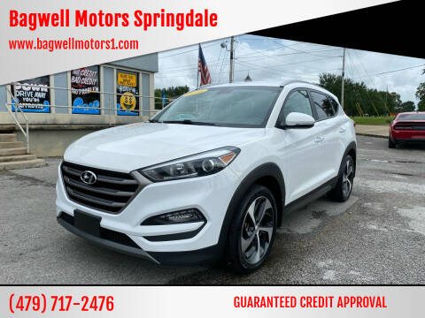 2016 Hyundai Tucson for sale at Bagwell Motors Springdale in Springdale AR