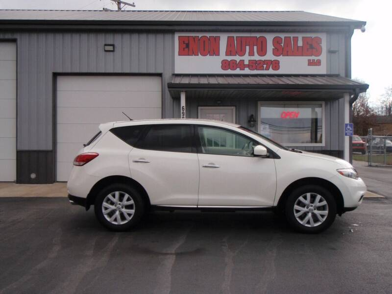 2012 Nissan Murano for sale at ENON AUTO SALES in Enon OH