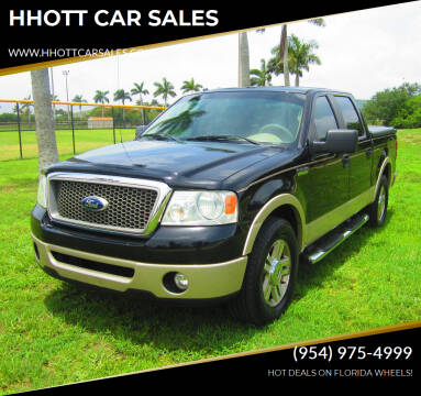 2008 Ford F-150 for sale at HHOTT CAR SALES in Deerfield Beach FL