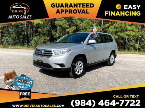 2012 Toyota Highlander for sale at Drive 1 Auto Sales in Wake Forest NC