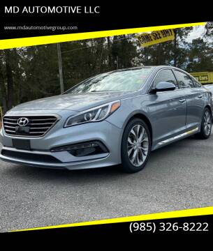 2015 Hyundai Sonata for sale at MD AUTOMOTIVE LLC in Slidell LA