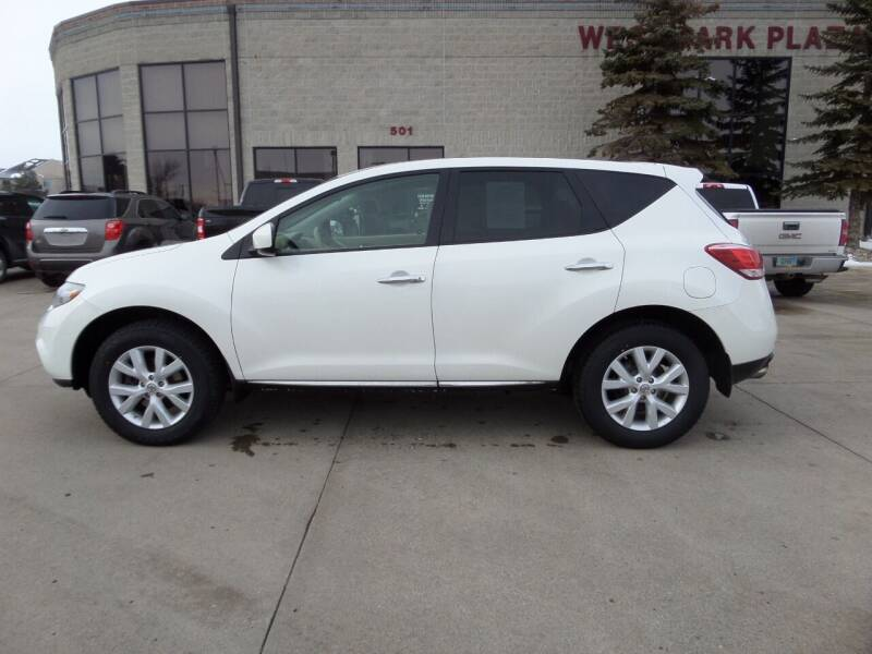 2012 Nissan Murano for sale at Elite Motors in Fargo ND