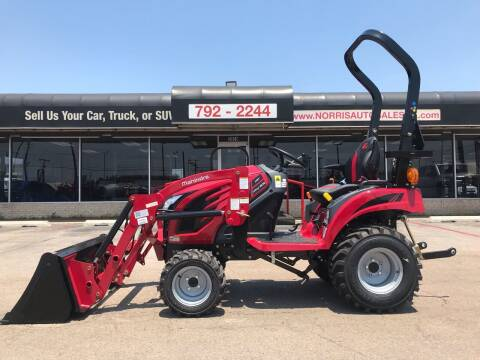 2021 Mahindra eMax 20S for sale at NORRIS AUTO SALES in Oklahoma City OK