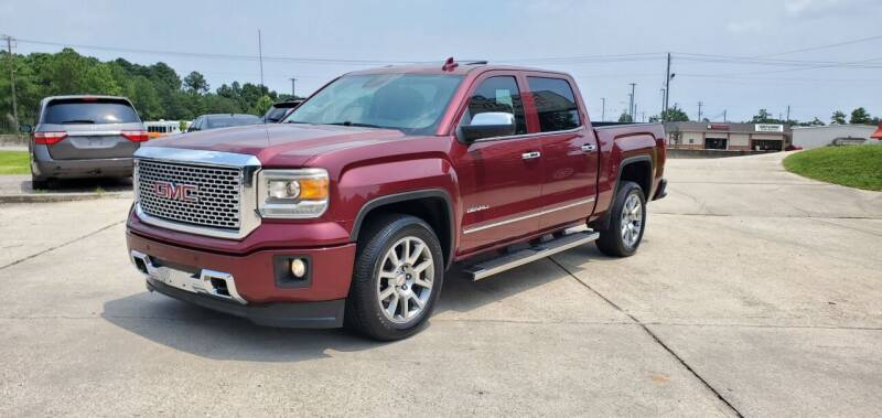 2015 GMC Sierra 1500 for sale at WHOLESALE AUTO GROUP in Mobile AL