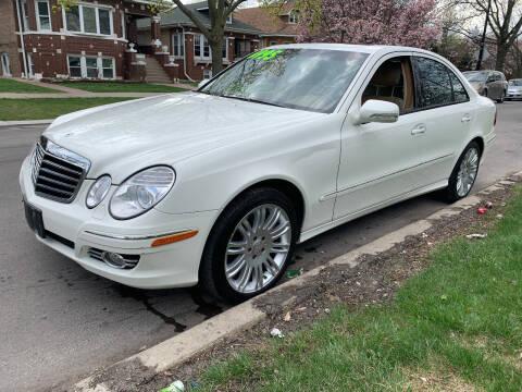 2008 Mercedes-Benz E-Class for sale at Apollo Motors INC in Chicago IL